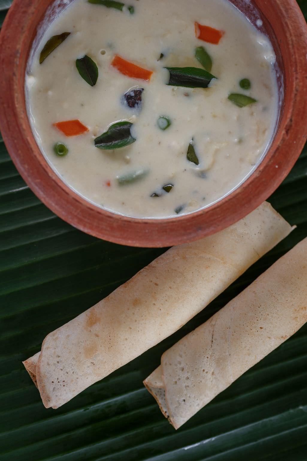 karma chakra special creamy soup cuisine