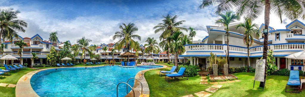 infinity pool of luxury hotel of karma royal benaulim