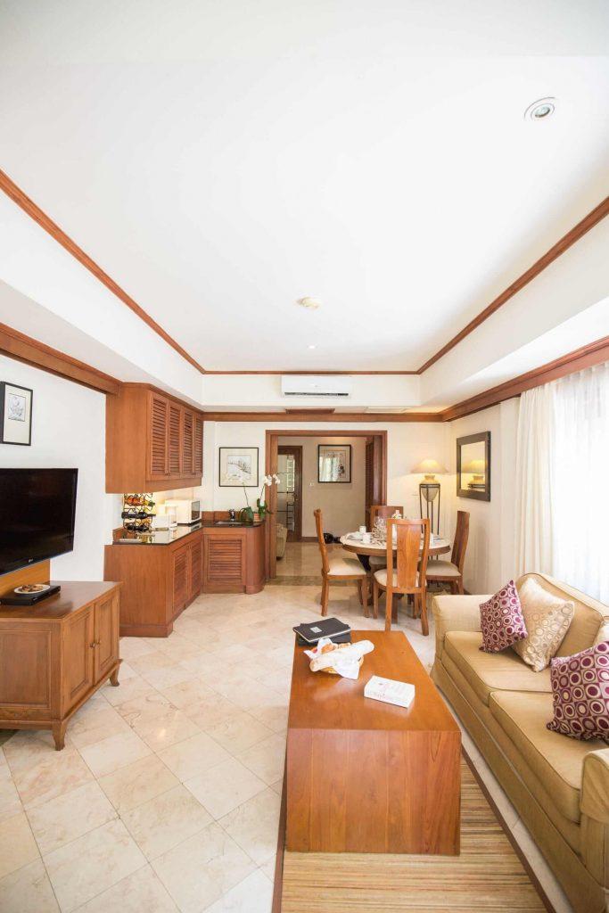 luxury hotel of karma royal jimbaran Apartment Lounge Area