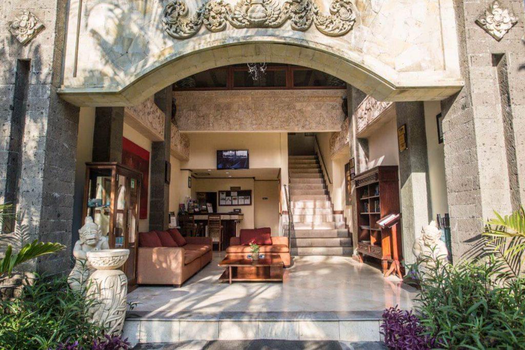 luxury hotel of Karma Royal Sanur Entrance view