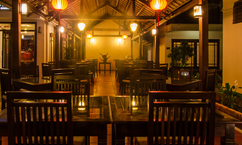 luxury and romantic Hoi An restaurant