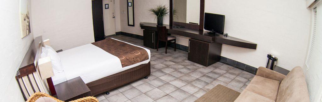 luxury bedroom of karma rottnest