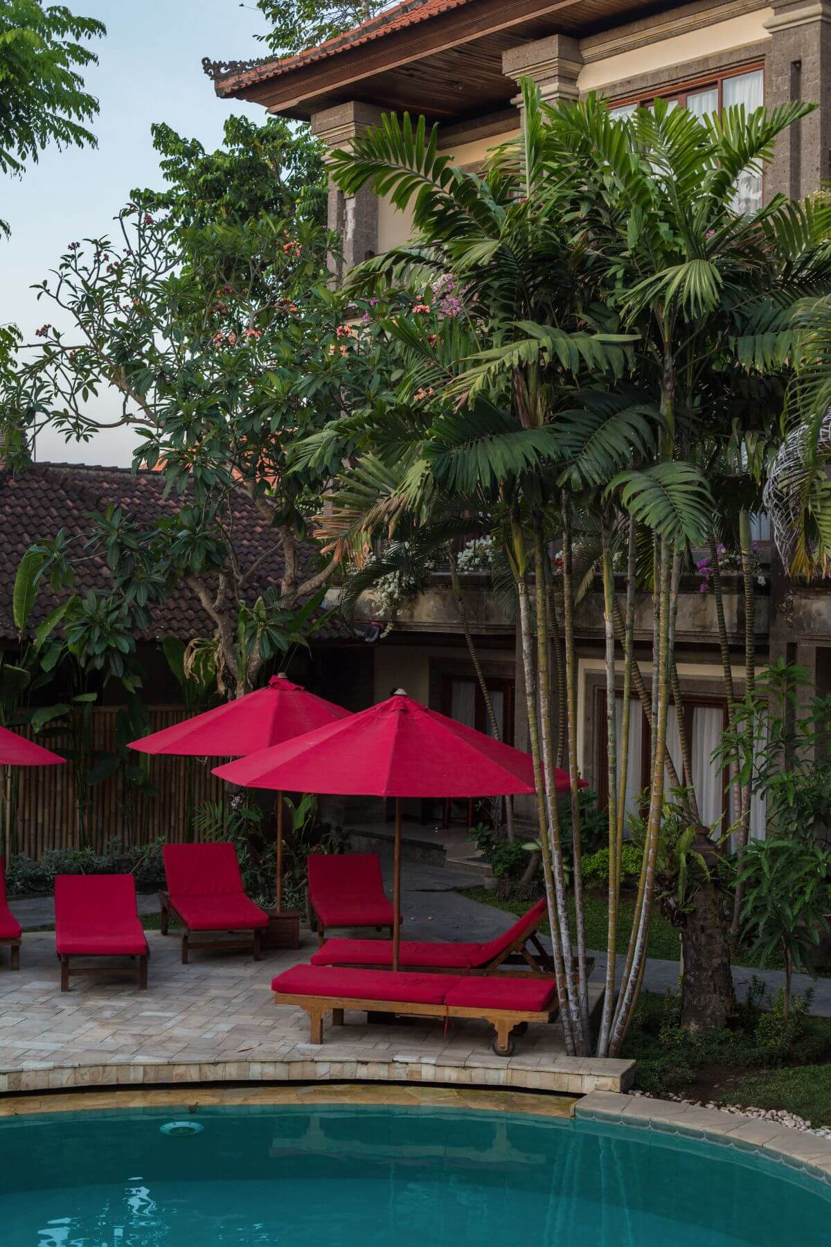 luxury hotel of Karma Royal Sanur Poolside Loungers