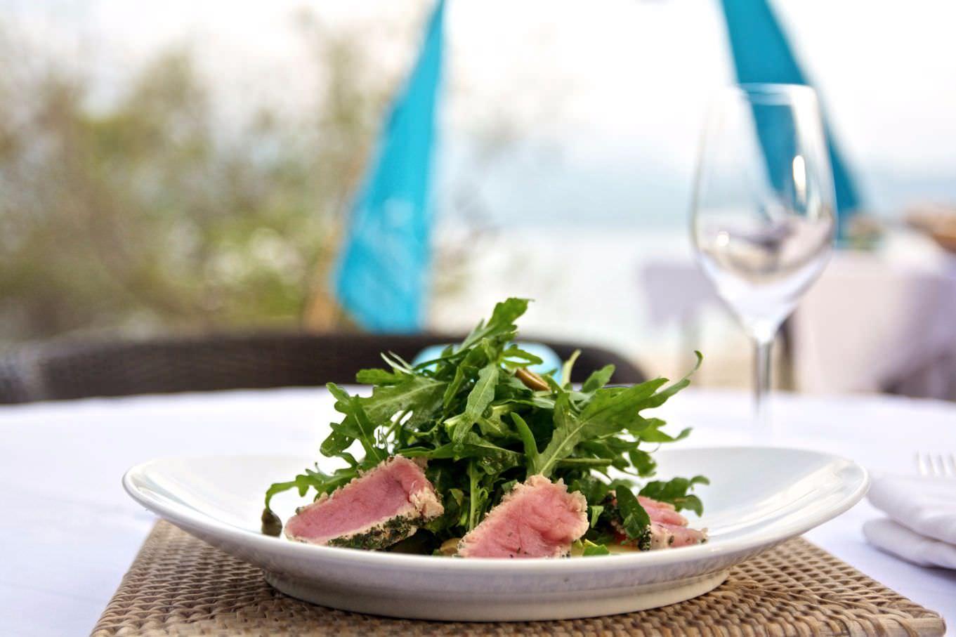 best taste of luxury Best Resort fish cuisine in Lombok. karma reef