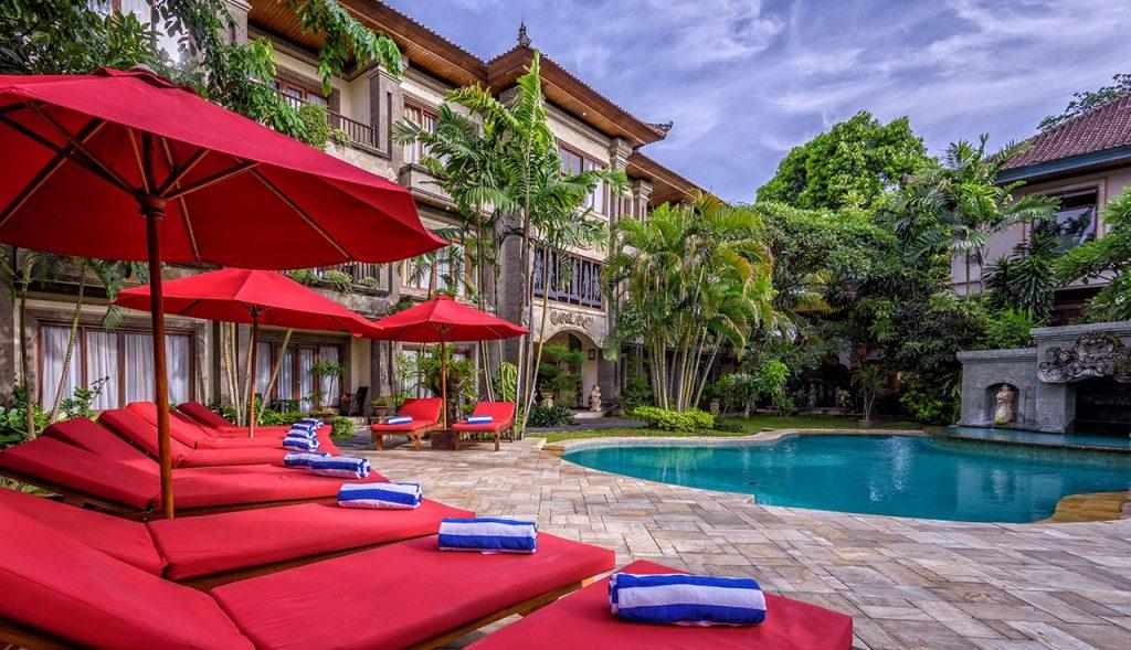 luxury hotel of karma royal sanur main pool