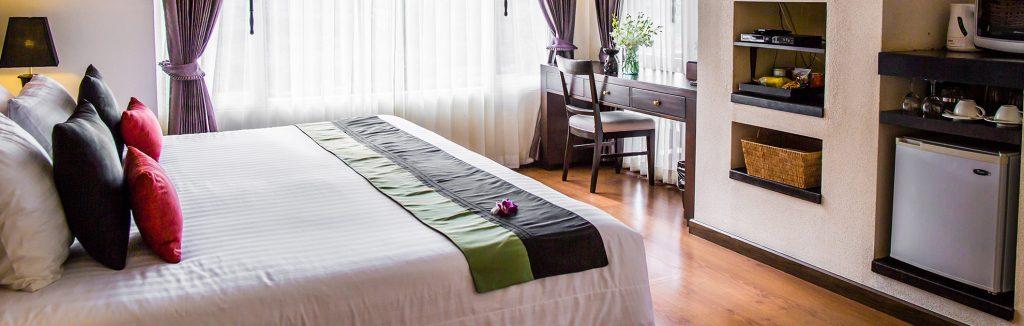 luxury hotel of karma royal bella vista bedroom