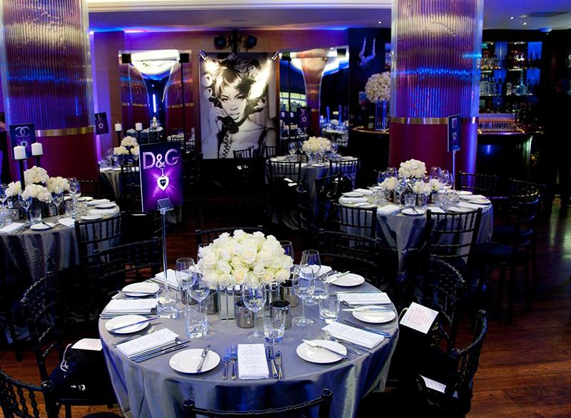luxury hotel of karma sanctum soho purple light Restaurant