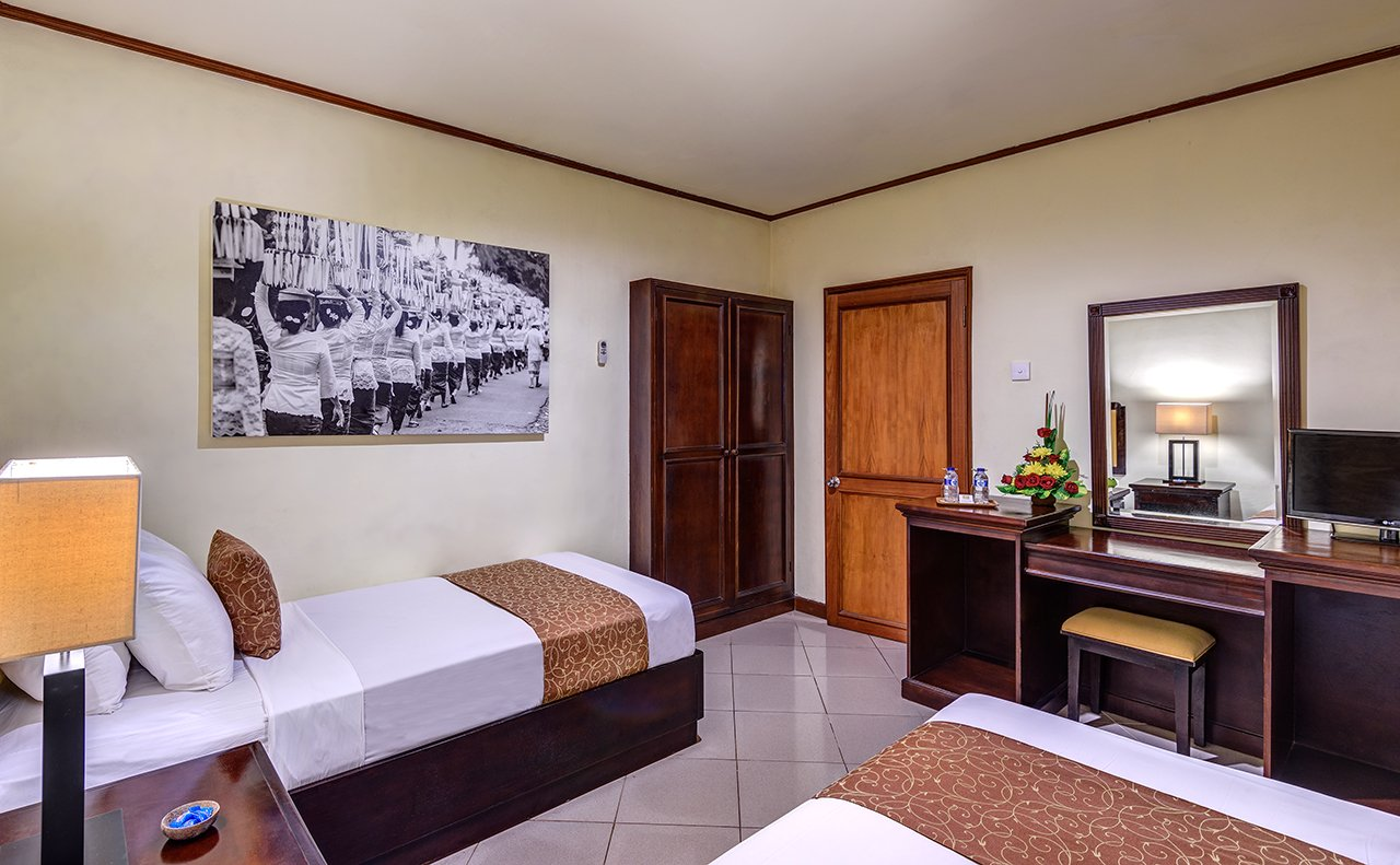luxury hotel of karma royal sanur accomodation twins