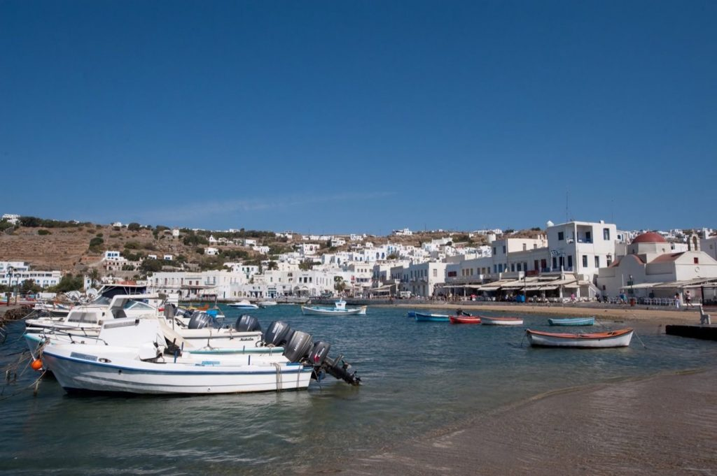 great holiday with blue ocean view at Mykonos Local Area