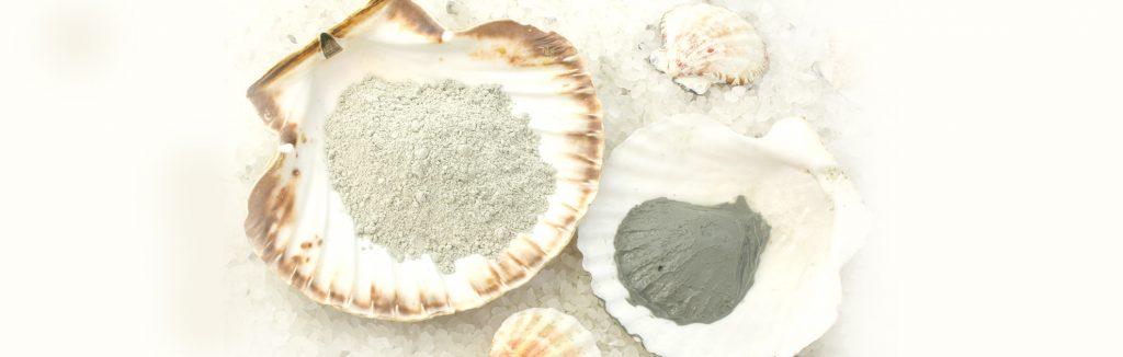 beautiful white sand shell in luxury hotel karma saint martin's beach