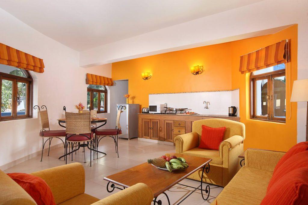 luxury hotel of Karma Royal MonteRio Accommodation Lounge Kitchen Area