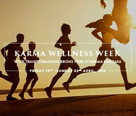 Karma Wellness Week your transformation begins here banner