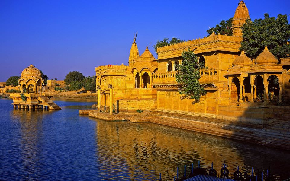 great adventure of Gadi Sagar Temple, Jaisalmer