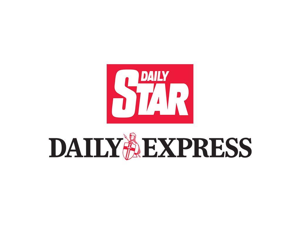 daily star. daily express logo