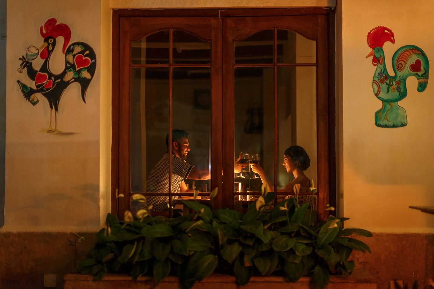 luxury hotel of Karma Royal Residences at Haathi Mahal Casa Lisboa Restaurant