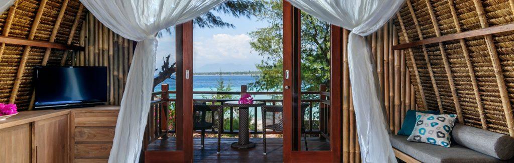 luxury resort of karma reef bedroom