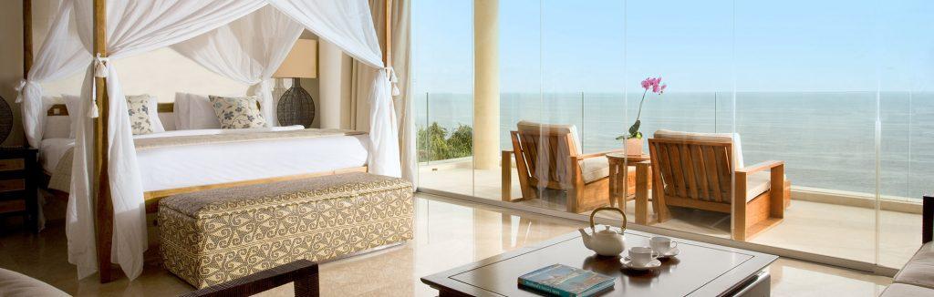 luxury room of karma kandara with ocean view