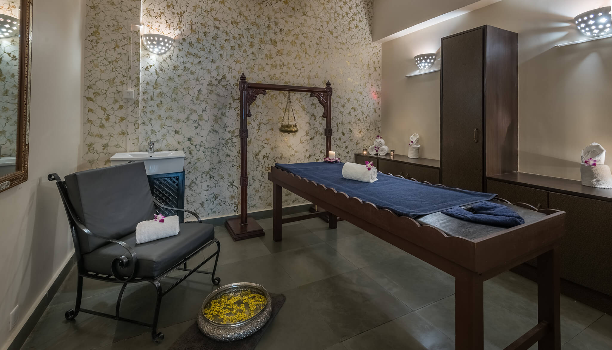 luxury hotel of Karma Royal Palms Karma Spa and body treatment