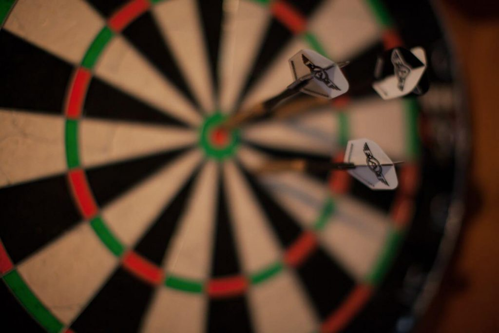 great vacation of Le Preverger Darts in the Bar