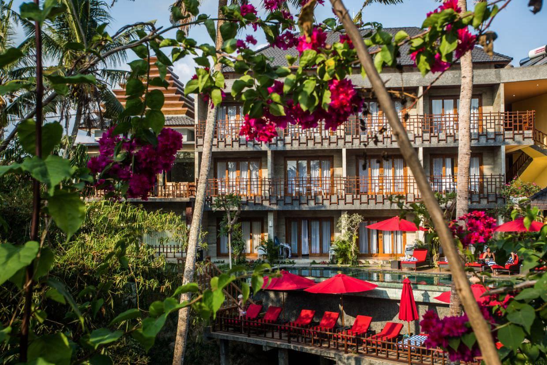 luxury hotel of Karma Mayura view