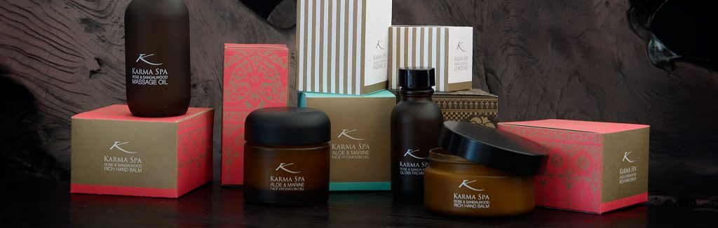 all karma spa products