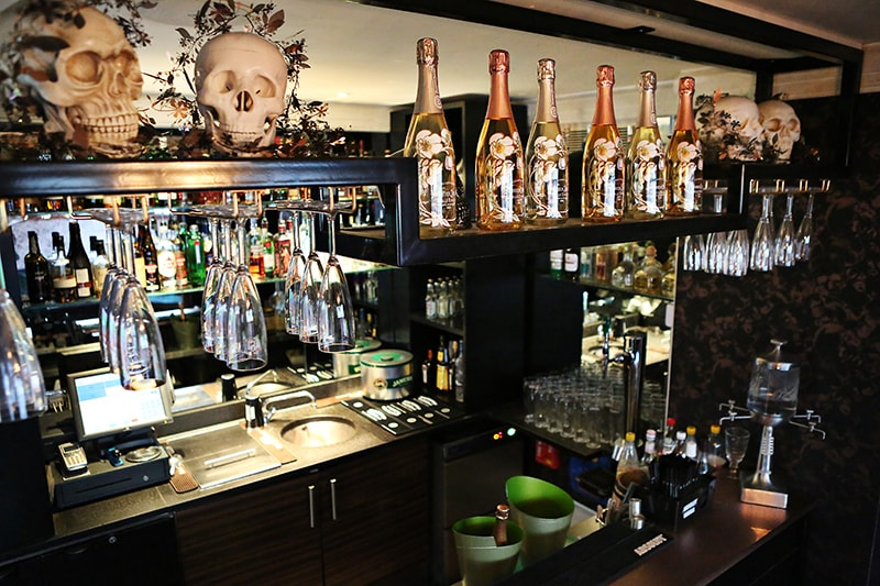 luxury hotel of karma sanctum soho Rooftop bar