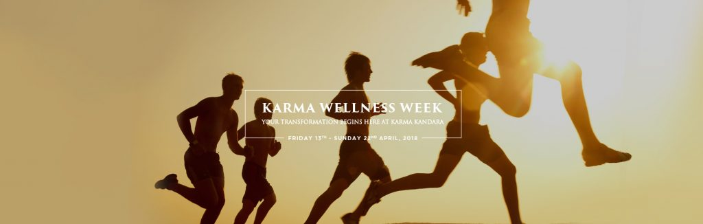 Karma Wellness Week your transformation begins here banner