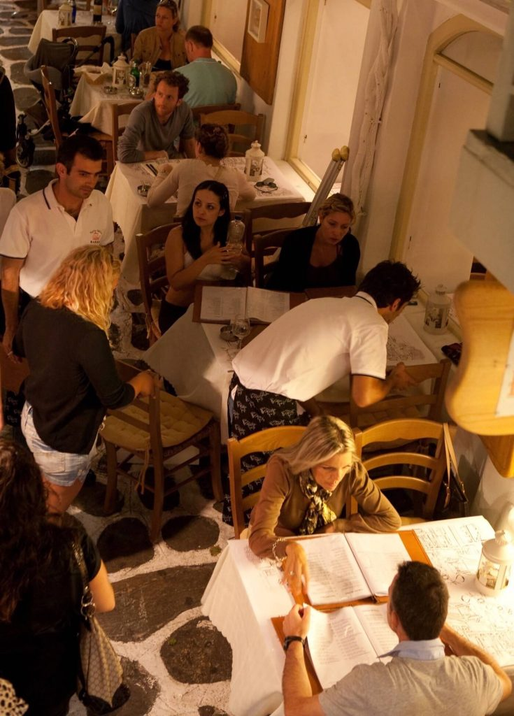 great holiday with Mykonos Local Area Dining restaurant