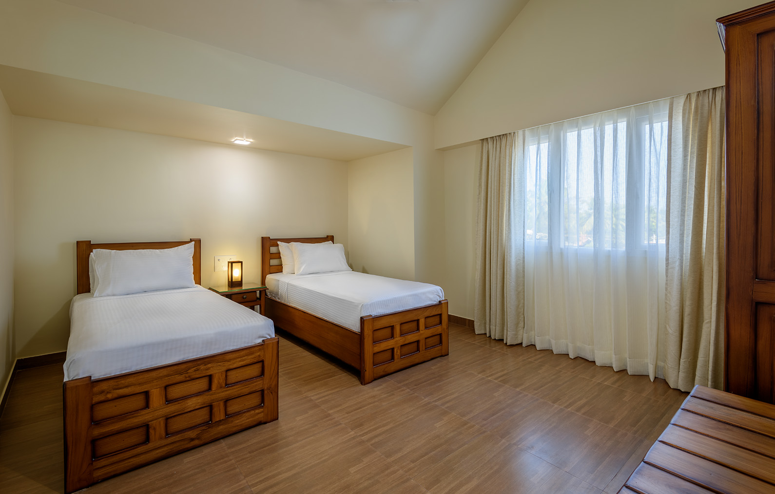 simple two bedroom of luxury hotel Karma Royal Benaulim Rooms and Accommodation