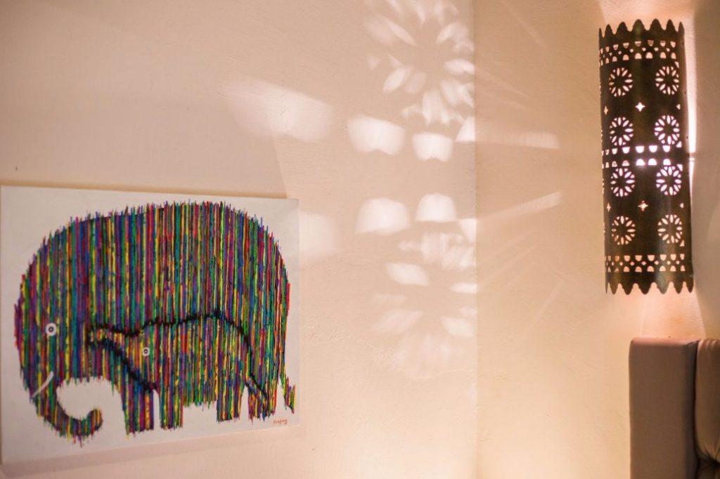 Contemporary Artwork at luxury hotel karma royal chiang mai