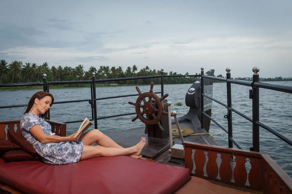 great holiday adventure with karma chakra house boat
