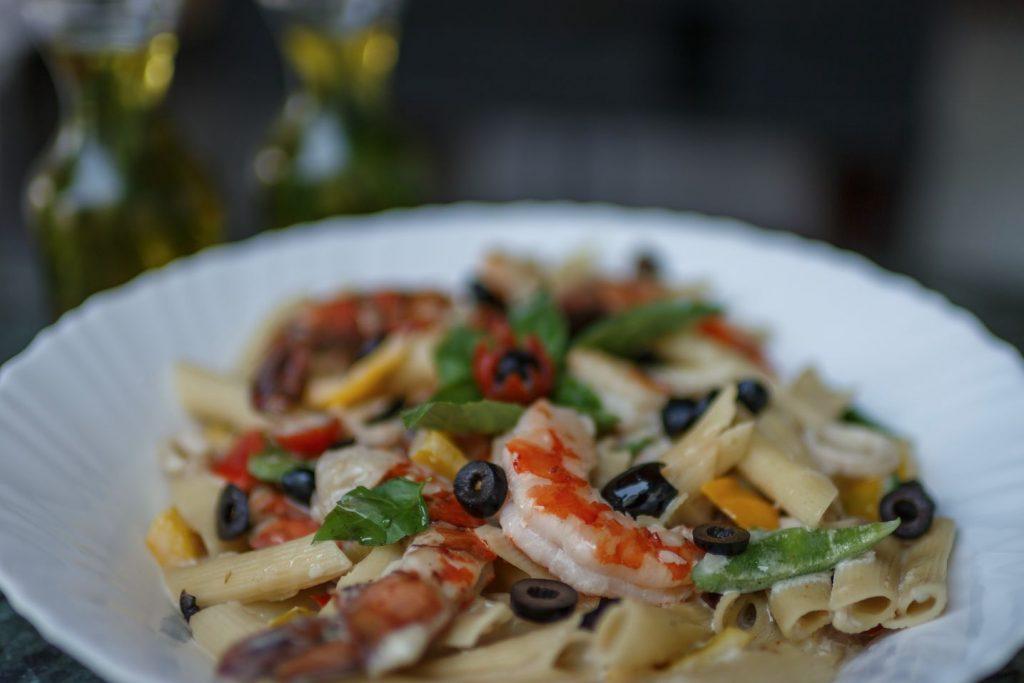 fresh seafood of luxury Karma Royal Haathi Mahal Cuisine