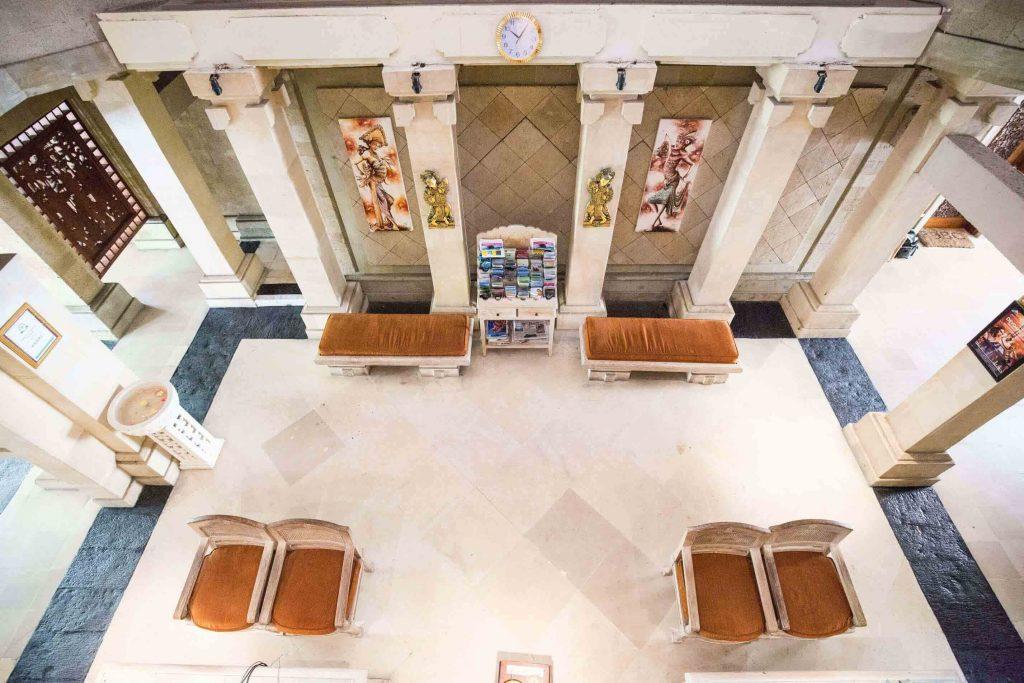 luxury hotel of Karma Royal Jimbaran Reception Area