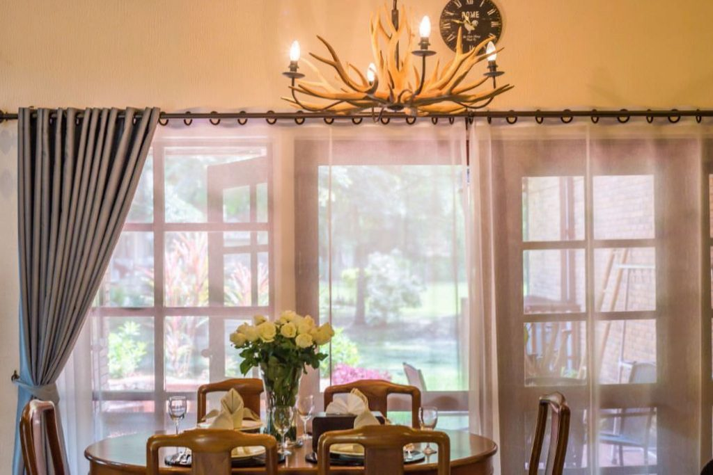 warm and romantic weather of luxury hotel karma royal chiang mai Dining room