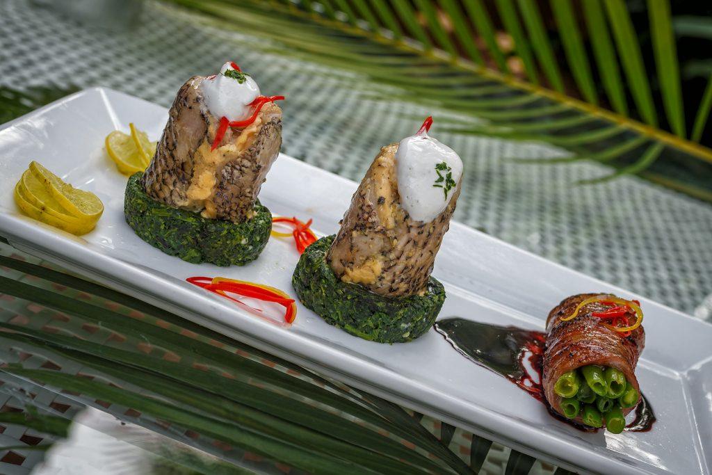 luxury hotel of Karma Royal Palms Cuisine