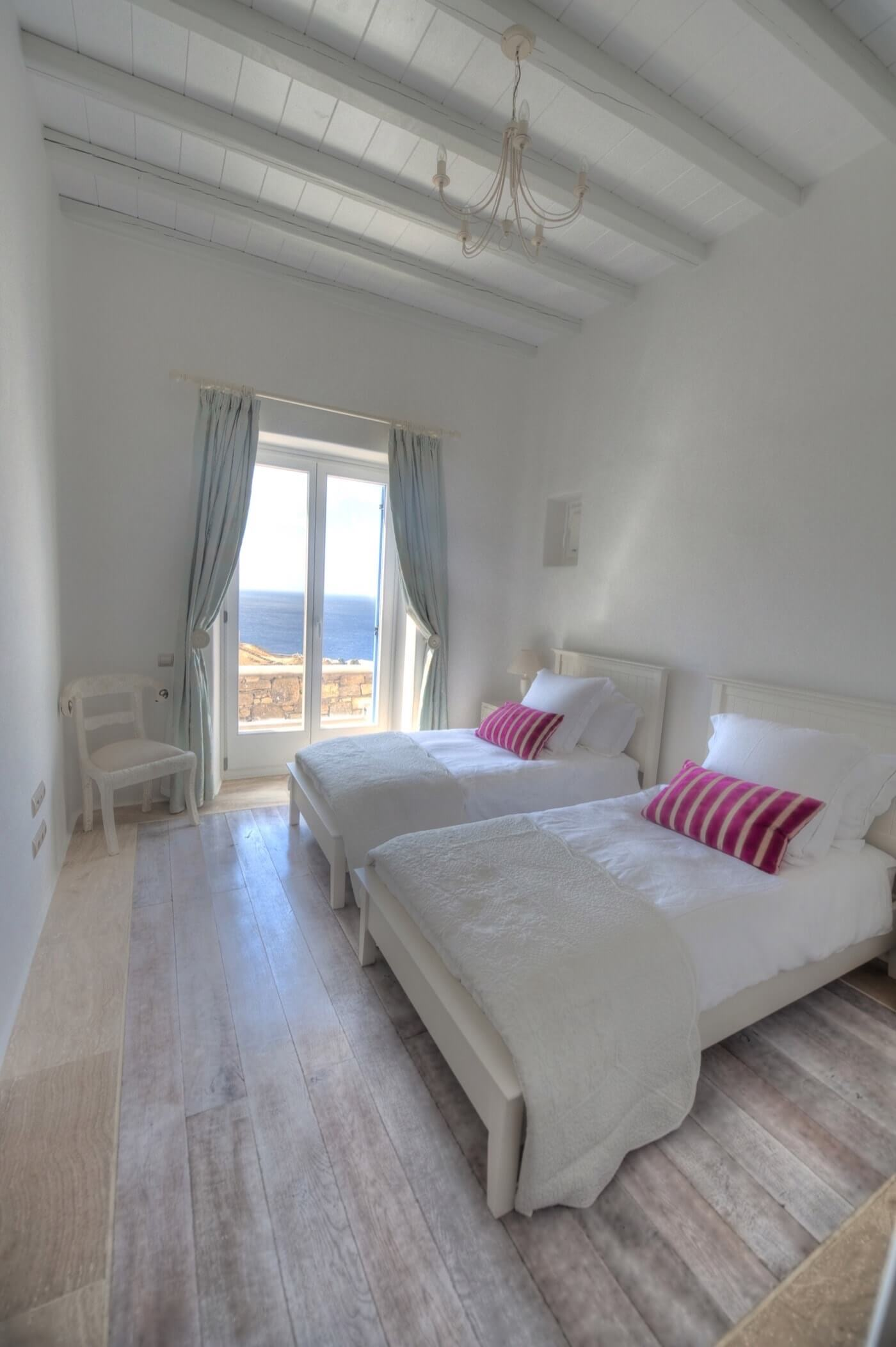 Luxury hotel of Karma Pelikanos Accommodation bedroom