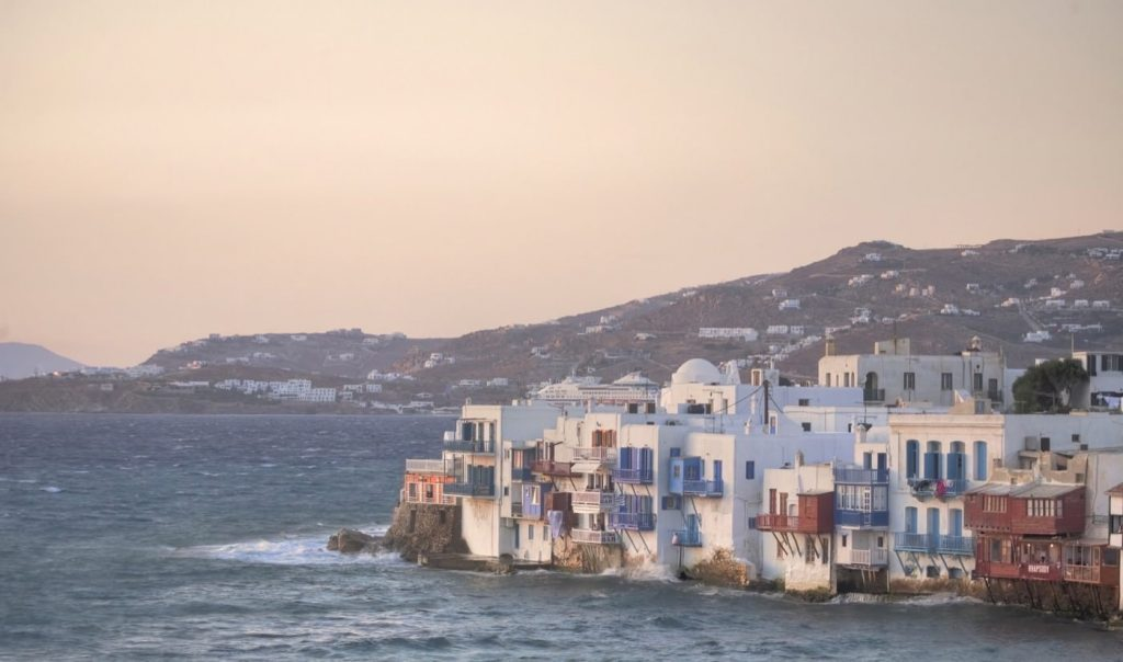 great holiday with Mykonos Local Area city seaside