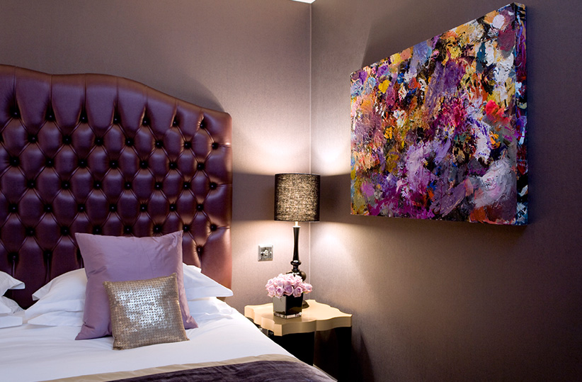 luxury hotel of karma sanctum soho purple Rooms