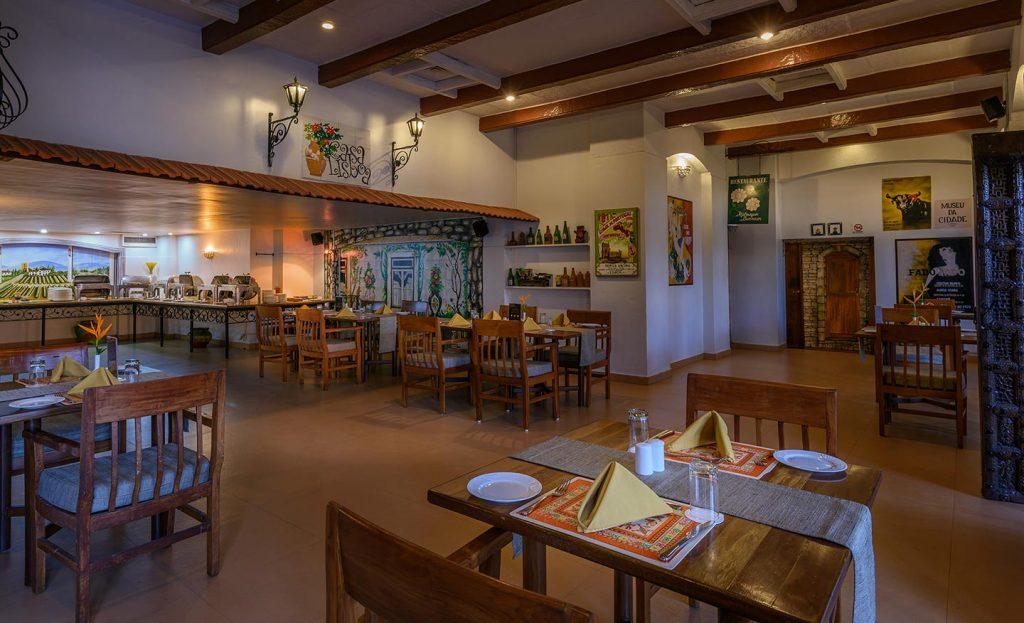luxury restaurant of karma royal residences at Haathi Mahal