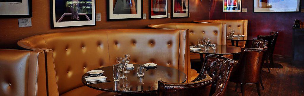 luxury hotel of karma sanctum on the green restaurant and bar