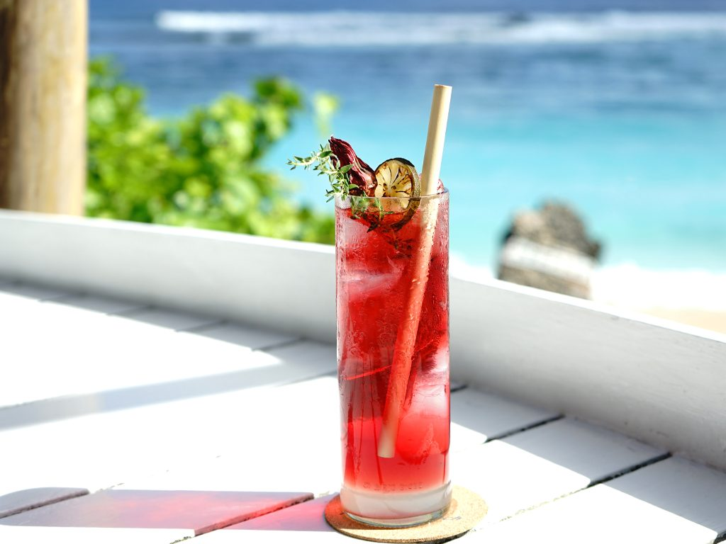 fresh and icy drinks from luxury hotel karma group