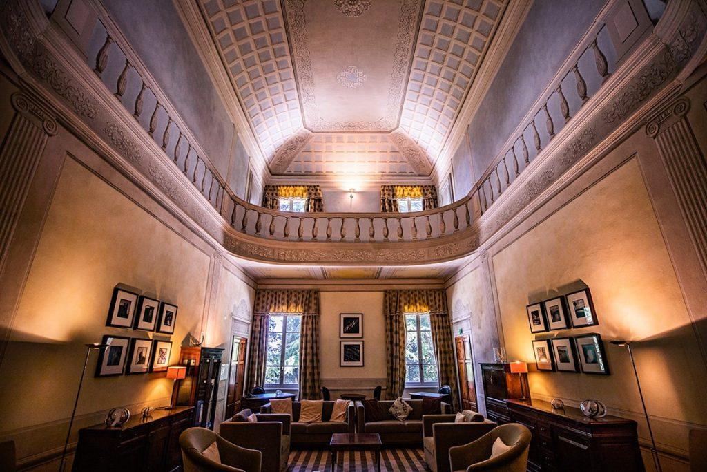 luxury resort of Karma Borgo Di Colleoli main hall