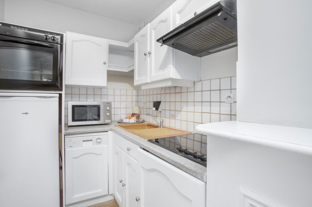 luxury residence of Karma Residence Normande kitchen