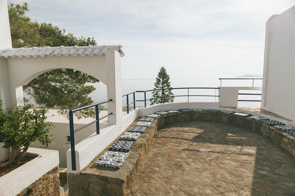 unique artistic of luxury hotel karma minoan building