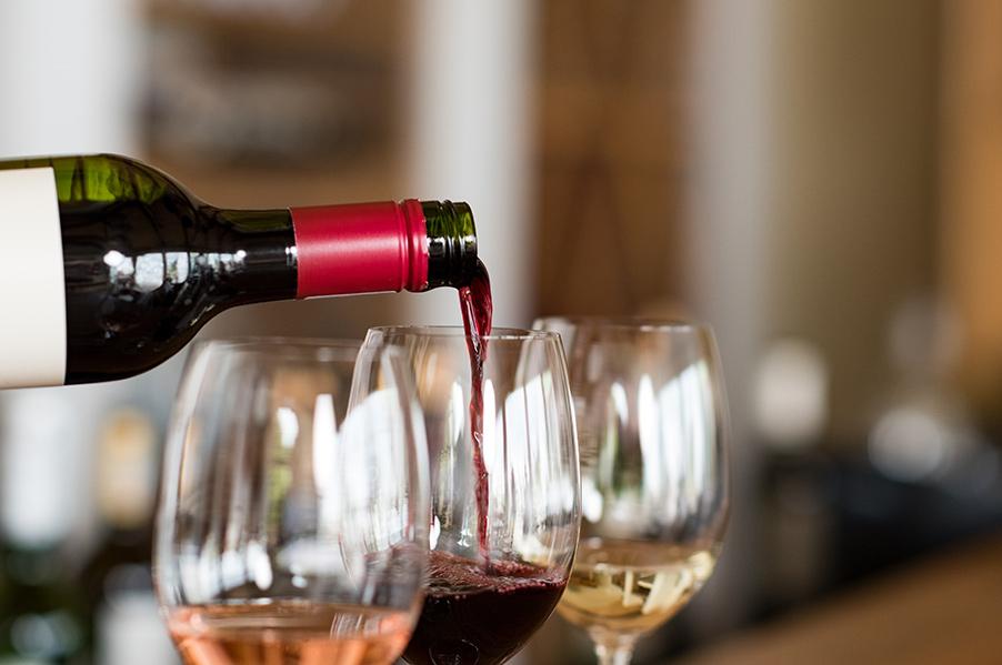 great taste wine of luxury hotel karma minoan