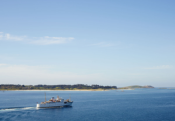 Karma Saint Martins. Isles of Scilly Travel with ship