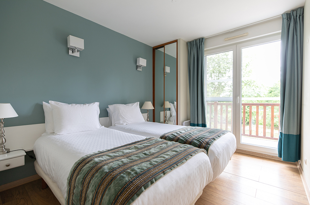 luxury residence of Karma Residence Normande double bed