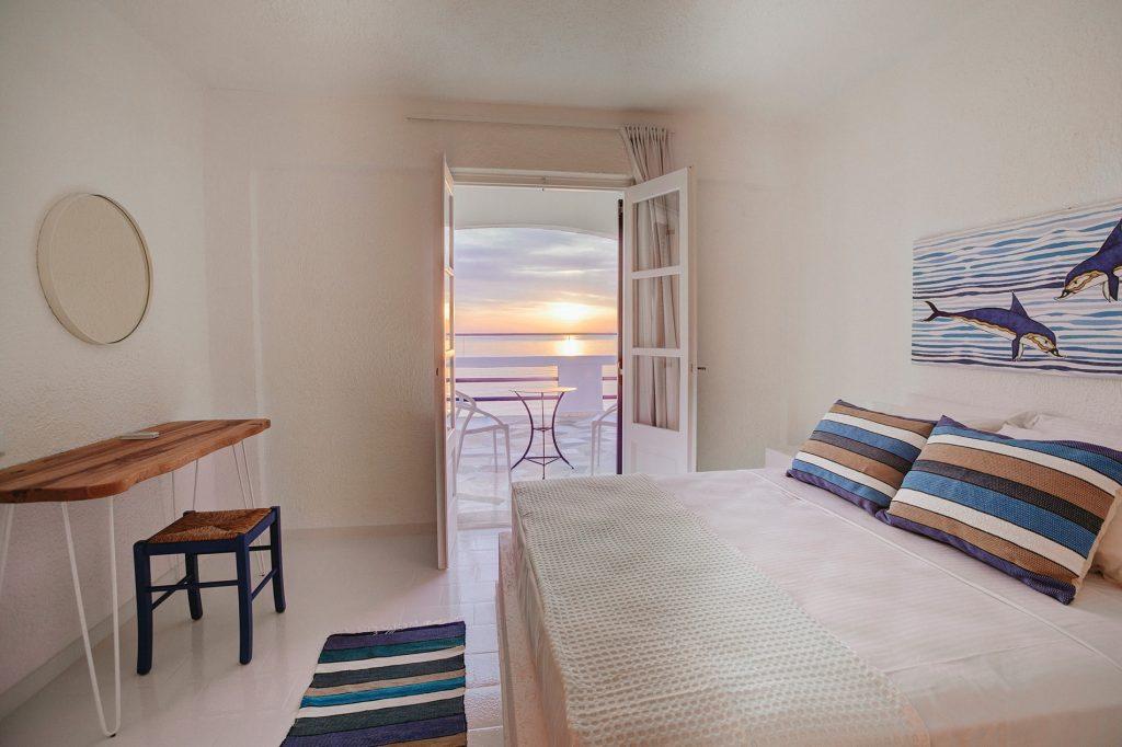 Karma Minoan sunset view balcony bedroom