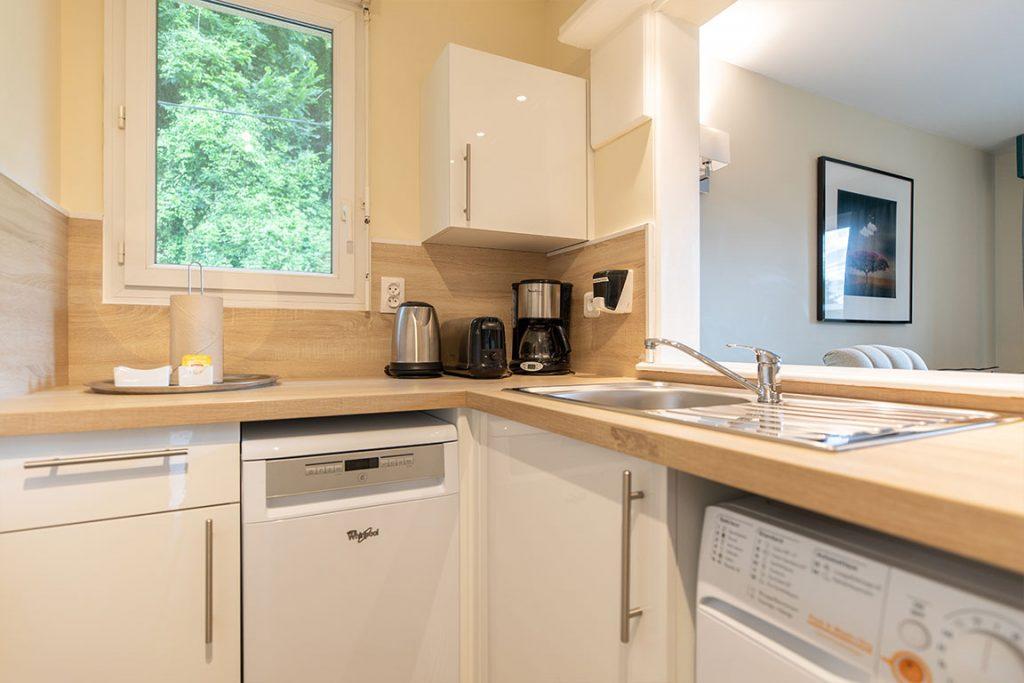 luxury residence of Karma Manoir kitchen