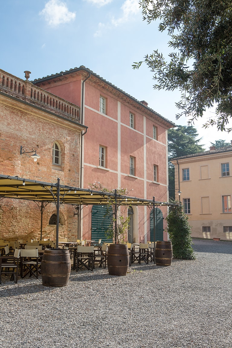 luxury resort of Karma Borgo Di Colleoli front view